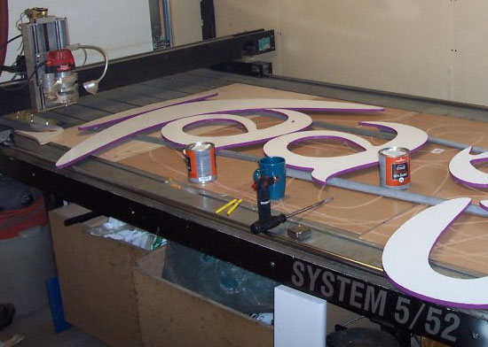 Large profiling services at Creative CNC in Bradford